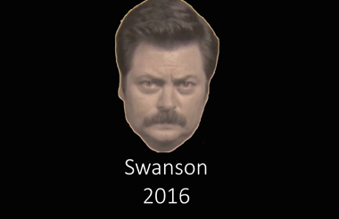 Fictional Character Ron Swanson Now Running for President