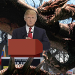 Donald Trump Eaten By Angry Mexican God